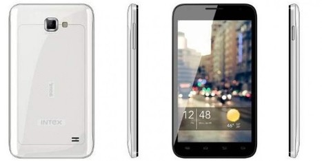 Intex Launched Aqua i-5 Smartphone, Specifications and Price | Geeks9.com | Technology | Scoop.it