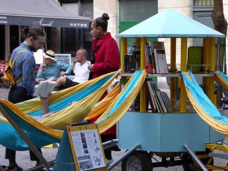 Réenchanter le quotidien : la Bibliambule, fantastique bibliothèque mobile | Quatrième lieu | Scoop.it