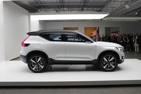 Volvo annonce ses futures compactes avec les concepts 40.1 et 40.2: alléchants   Volvo Concept   Scoop.it