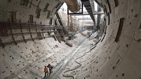 Under Seattle, a Big Object Blocks Bertha. What Is It? | Bentonville Public Schools Science and Education | Scoop.it