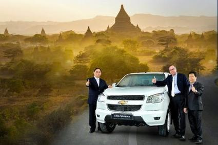 GM enters Myanmar market - The Nation | Thailand Business News | Scoop.it