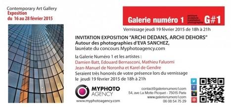Vernissage Expo photo Archi - Galerie Numéro 1 | Art Exhibition in Paris | Scoop.it