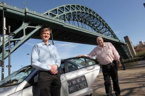 Uber in Newcastle: Popular taxi app to launch for passengers today | Business Video Directory | Scoop.it