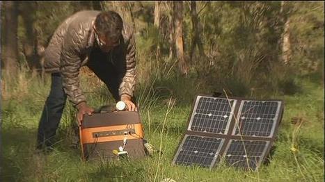 Uma central portátil para a produção de energia solar | Ecologia e cultura | Scoop.it