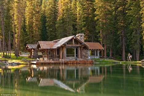 Could this be the most beautiful mountain log cabin in the world? | Hôtellerie | Scoop.it