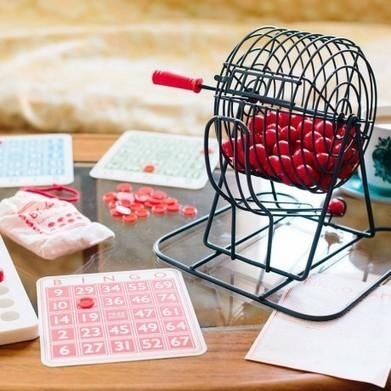 Jeu de Loto Bingo Rétro - Cadeau Maestro   Sélection idées cadeaux   Scoop.it