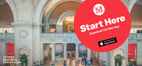 Le Metropolitan Museum lance son application mobile gratuite pour les terminaux Apple | L'actu culturelle | Scoop.it
