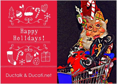 Special Delivery Greetings From Ductalk and Ducati.net | Ductalk Ducati News | Scoop.it