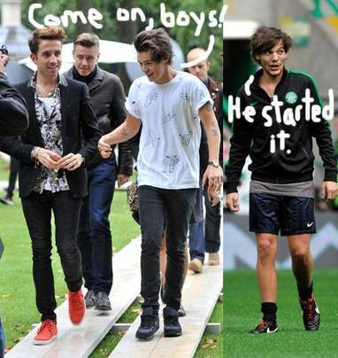 One Direction Drama! Louis Tomlinson At War With Harry Styles' DJ BFF! - PerezHilton.com | ONE DIRECTION | Scoop.it