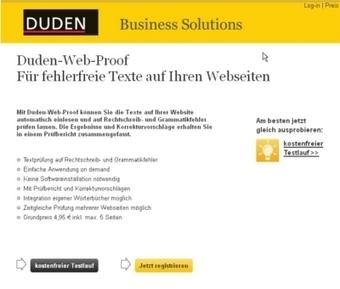 Duden | Textprüfung | josepigi | Scoop.it