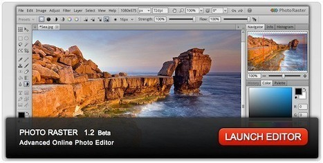 Photo Raster, un nouveau Photoshop Like gratuit en ligne | Windows Mac Mobile Application | Scoop.it