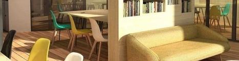 Nomade : l'espace de coworking conçu par La Poste | Zevillage | Le télétravail | Scoop.it