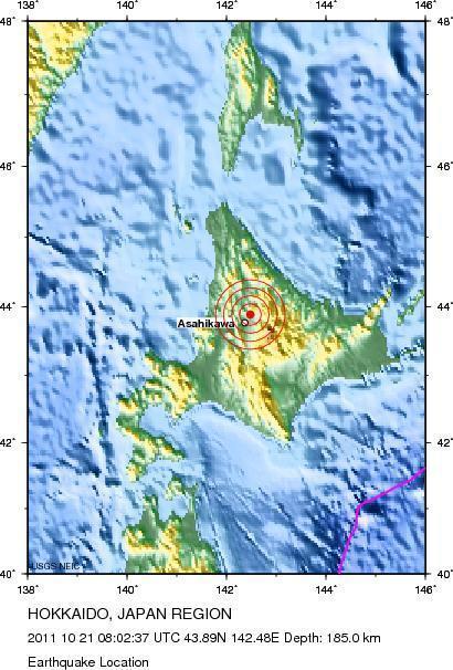 Magnitude 6.1 Earthquake  HOKKAIDO JAPAN | Japan Tsunami | Scoop.it