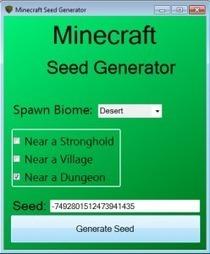 Minecraft Seed Generator/Oluşturucu Modu 1.7.4 indir - Minecraft indir   minecraftindirr   Scoop.it