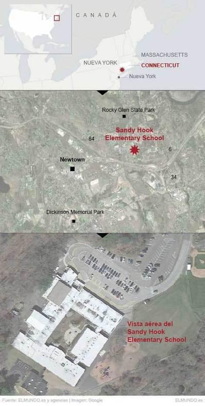 La peor matanza escolar en EEUU deja 20 niños y 6 adultos muertos | Estados Unidos | elmundo.es | Masacres en centros educativos en EEUU | Scoop.it