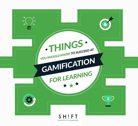 Things You Should Know to Succeed at Gamification for Corporate Learning | SHIFT elearning | Scoop.it