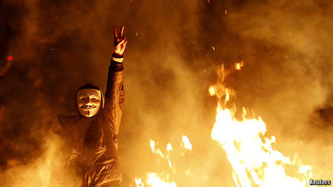 How Guy Fawkes became the face of post-modern protest   Criminology and Economic Theory   Scoop.it