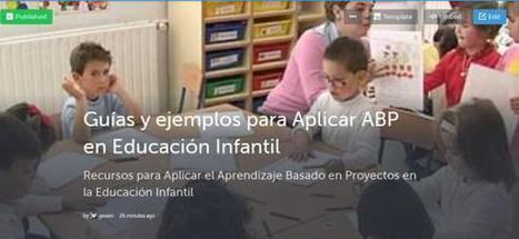 13 Sitios y 100+ Recursos para Aplicar ABP en Educación Infantil   Educación con Innovación   Scoop.it