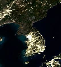 A satellite view of North Korea | Escape form Camp 14: North Korea | Scoop.it