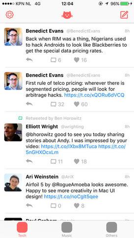 Tweetcat, organiza tu línea de tiempo de Twitter por temas | TIC - Recull de consells i recursos | Scoop.it
