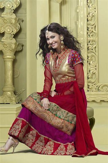 Wedding Designer Salwar Suit Lehenga | Buy Designer Anarkali Suits Online | Scoop.it