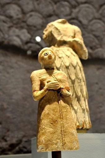 A statue of a Sumerian worshipper, Mesopotamia | Mesopotamia | Scoop.it