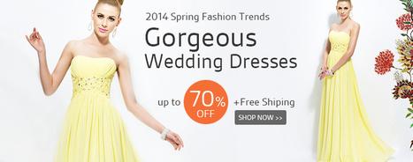 Evening Dresses   Wedding Party Dresses   Scoop.it