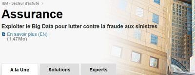 IBM - Assurance - A la Une - France | Veille CMR | Scoop.it