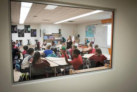 Une école primaire qui innove avec l'espace et la technopédagogie | Actualités technopédagogiques | Scoop.it