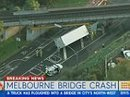 Driver stuck in cabin after truck ploughed into Melbourne bridge | Truckers Daily | Scoop.it