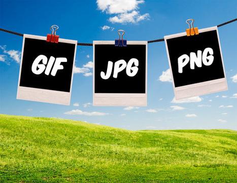 Diferencias entre Imágenes JPEG, PNG y GIF | plurilingüisme | Scoop.it