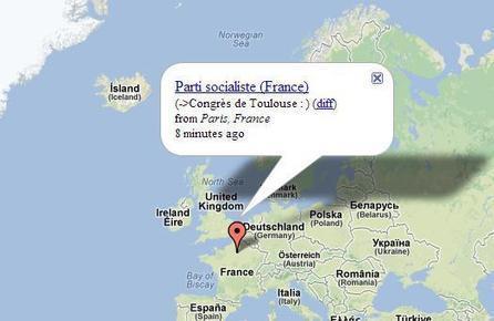 Une carte pour suivre en temps réel les modifications sur Wikipedia, Wikipedia Vision | Ballajack | Ere numérique | Scoop.it