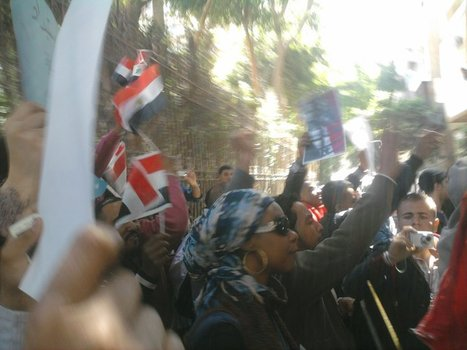 Syrian Protesters Attacked by Regime Thugs in Cairo | Coveting Freedom | Scoop.it