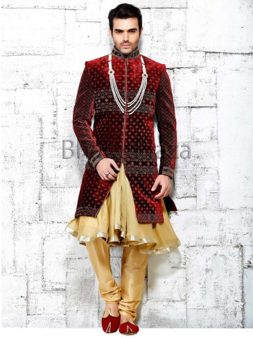These Mens Anarkalis could be the perfect to enhance your looks on your wedding day. | Online Shopping India | Scoop.it