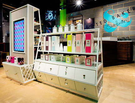 """Ted Baker teste le magasin """"physique virtuel"""" 