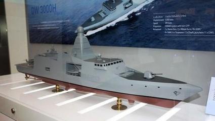 Les Sud-coréens proposent une frégate dotée de l'I-Mast de Thales : la Thaïlande l'a commandée...   Projet tuteuré   Scoop.it
