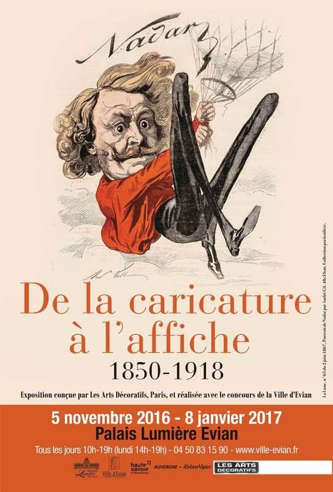 Evian : L'histoire autrement, « de la caricature à l'affiche, 1850-1918 »   Arts vivants, identité européenne - Living Arts, european Identity   Scoop.it