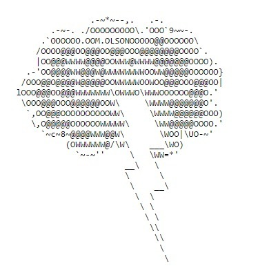 ASCII Art—Nature—Lightning | ASCII Art | Scoop.it