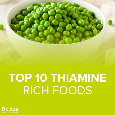 Top 10 (Thiamine) Vitamin B1 Foods - DrAxe.com | Your Food Your Health | Scoop.it