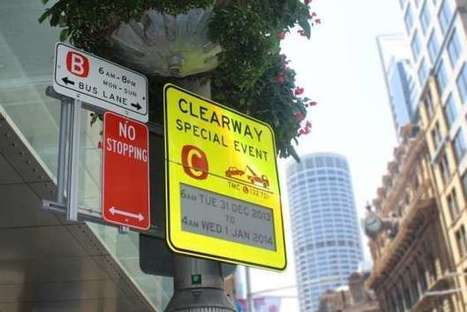 """World's  first"" E paper traffic signs installed in Australia 