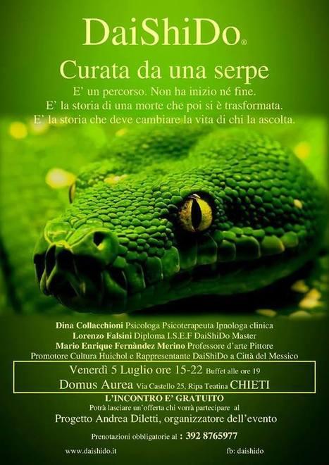 CURATA DA UNA SERPE - Incontro Sulla Psicologia Spirituale DaiShiDo | Facebook | Associazione Alveare - Avventure Culturali | Scoop.it