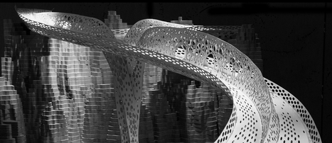 Anna Liu and Mike Tonki  Shell Lace Structure | Architectural & Design Solutions | Scoop.it