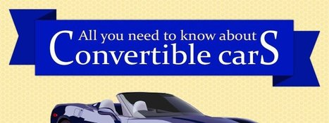 Infographic - All You Need To Know About Convertibles - AutoPortal | Autoportal India | Scoop.it