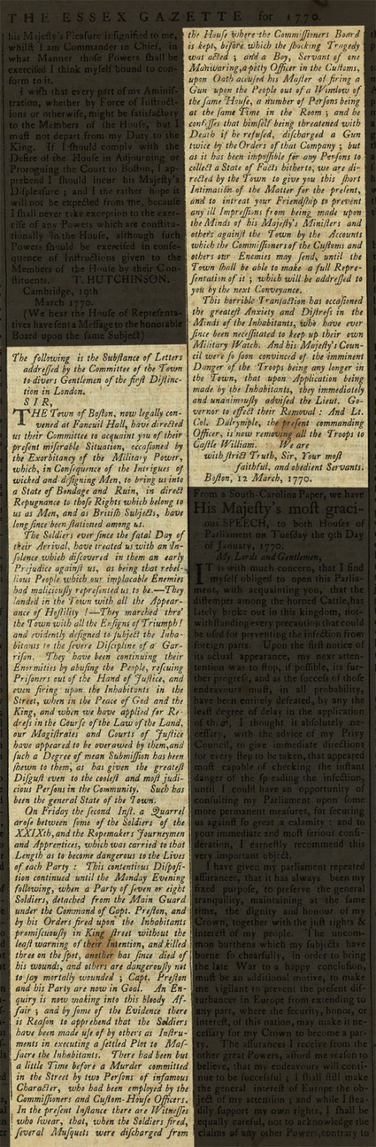 Social Media of the American Revolution | Rag Linen | Online Museum of Historic Newspapers | Peer2Politics | Scoop.it