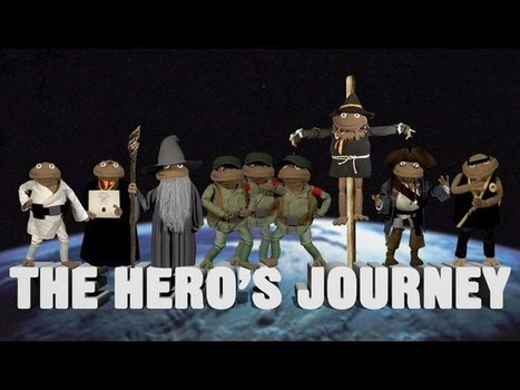Joseph Campbell and The Hero's Journey, as explained by puppets | Transmedia Project | Scoop.it