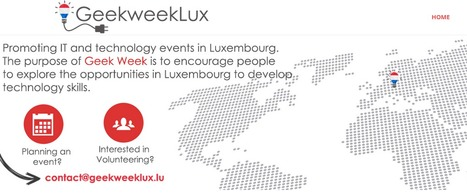 Geek Week Luxembourg | MakerED | Makerspaces | Coding | Luxembourg (Europe) | Scoop.it