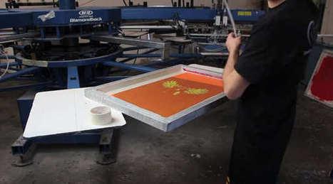 Impresión en serigrafía un video de todo el proceso | Novas de Artes e Oficios | Scoop.it
