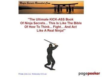 Ninja Sword – Ninja Warrior Secrets – Ninja Weapons – Ninja Smoke Bombs | Ebooks, Software and Downloads | Scoop.it