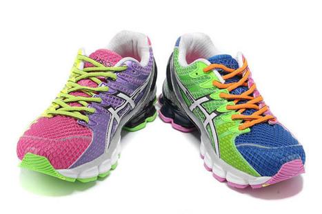 Womens Asics Gel Kinsei 4 T189N Fuschia Blue Shoes | popular list | Scoop.it