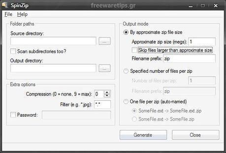 SpinZip - Δημιουργία συμπιεσμένων αρχείων | Freeware Tips | Scoop.it